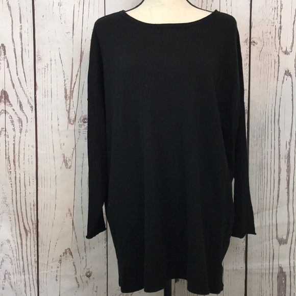 364fe6bbcf5 Eileen Fisher Tops - Eileen Fisher Merino Wool Tunic Top Large